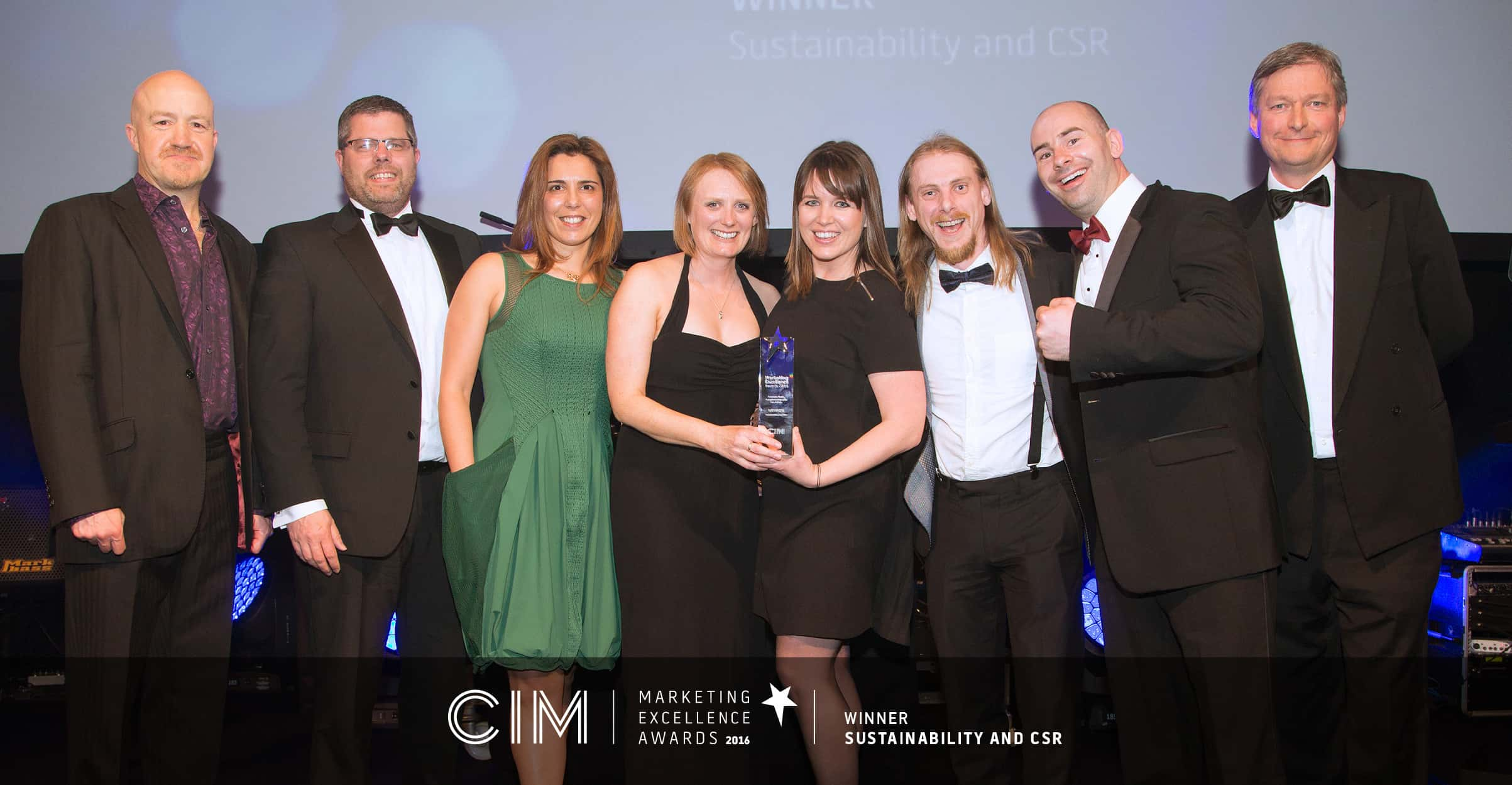#ProudOfYou CIM Marketing Excellence Award Win