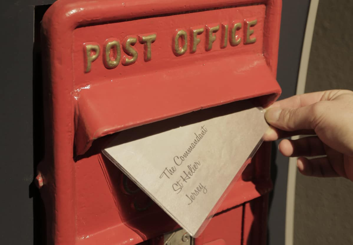War Tunnels Whispers and Lies Post Box
